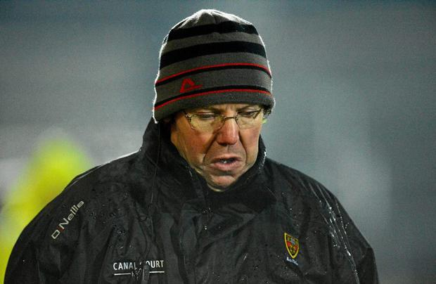 Eamon Burns, Down manager. Cadbury Ulster GAA Football Under 21 Championship, Quarter-Final, Armagh v Down, Athletic Grounds, Armagh. Picture credit: Oliver McVeigh / SPORTSFILE