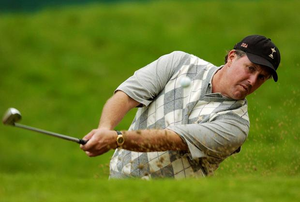 Phil Mickelson has slipped to 25th in the world after back-to-back winless seasons