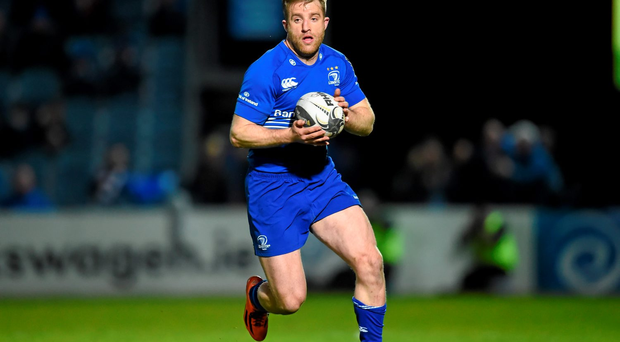 Leinster and Ireland's Luke Fitzgerald