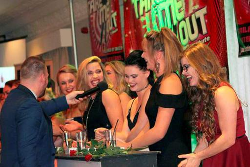 Participants during Arklow Rugby Club's Take Me Out evening
