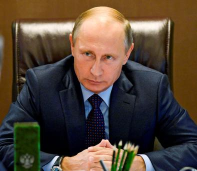 Russian President Vladimir Putin topped the list