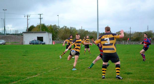 Carrick-on-Shannon in J2 action against Tuam