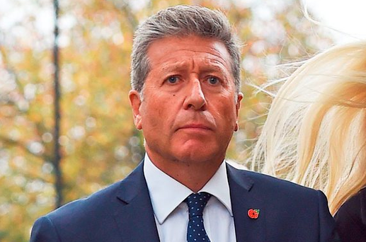 DJ Dr Neil Fox arrives at Westminster Magistrates' Court in London. Photo: PA