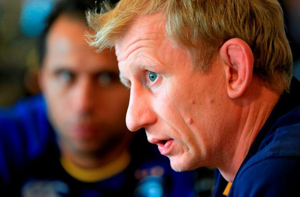 Leinster head coach Leo Cullen is afforded the luxury of being able to recall eight internationals