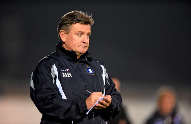 Limerick FC manager Martin Russell