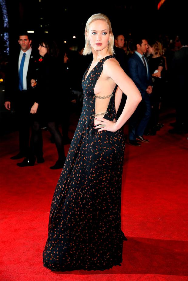 Actress Jennifer Lawrence attends