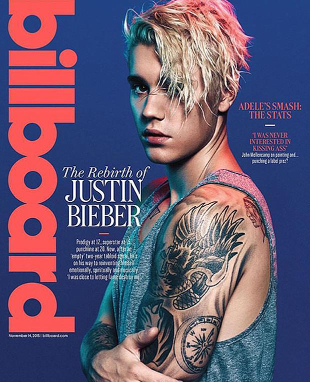 Justin Bieber covers Billboard magazine