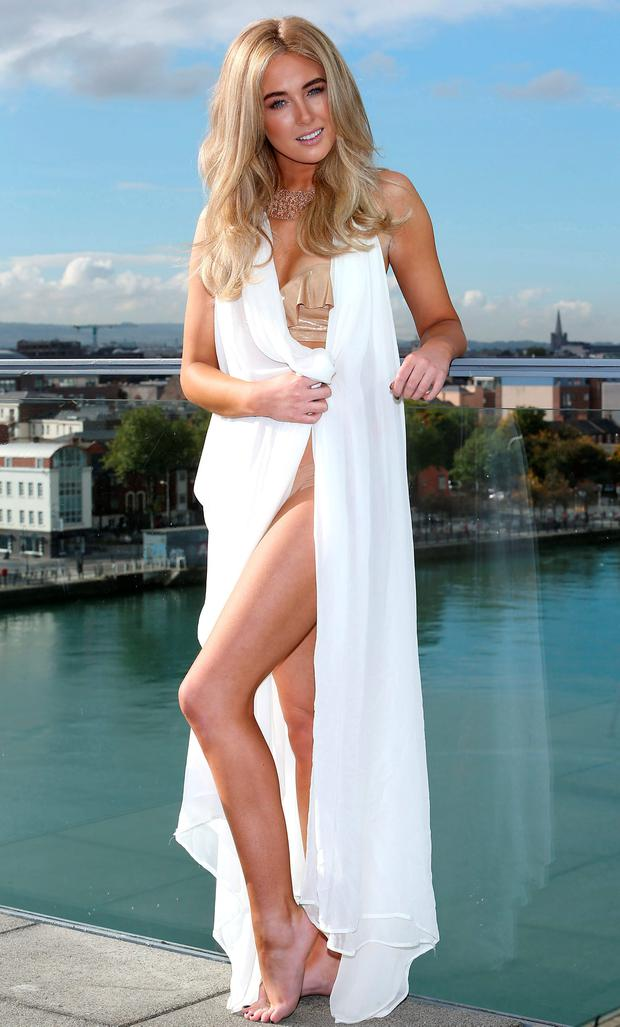 Nicola Hughes pictured in a photo shoot on the rooftop of The Spencer Hotel in the IFSC for the new Instyler Max