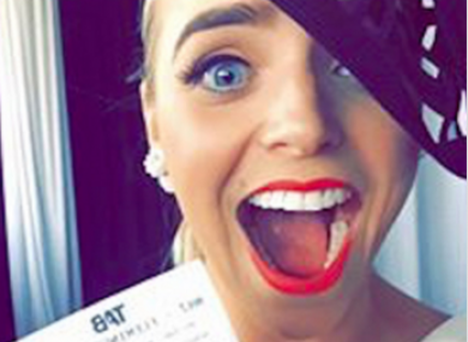The photo of her winning betting slip that Chantelle shared on Facebook Credit:Facebook/Triple M Radio