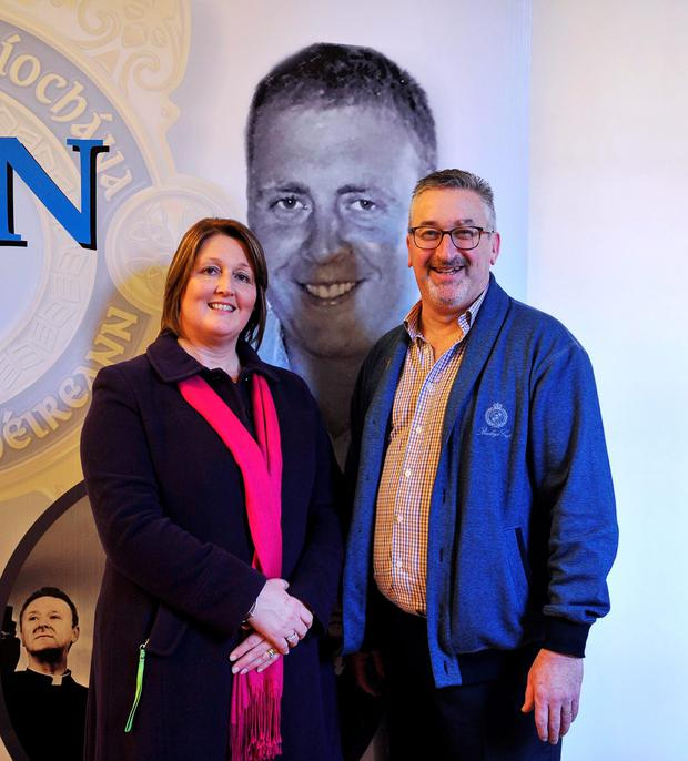 A major fundraising concert in memory of Detective Garda Adrian Donohoe has been announced today. At the launch of the concert aptly named 'Remembering Adrian' were Caroline Donohoe (Adrian's wife) and Fr Michael Cusack