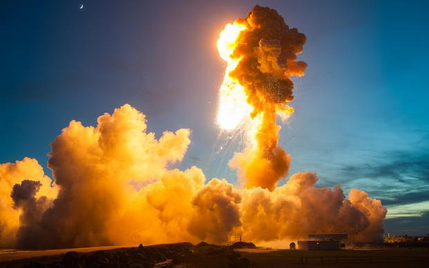 NASA are conducting an investigation into the explosion Credit:Flickr/NASA