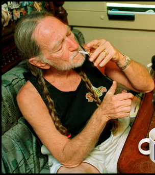 Country musician Willie Nelson has long been a high profile advocate of marijuana legalisation