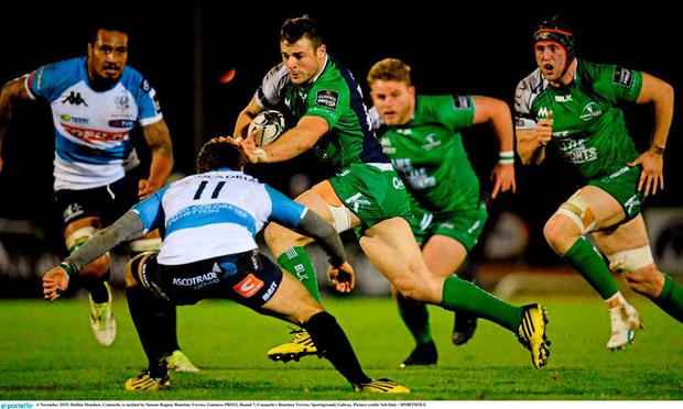 Robbie Henshaw will start at fullback for Connacht against Munster