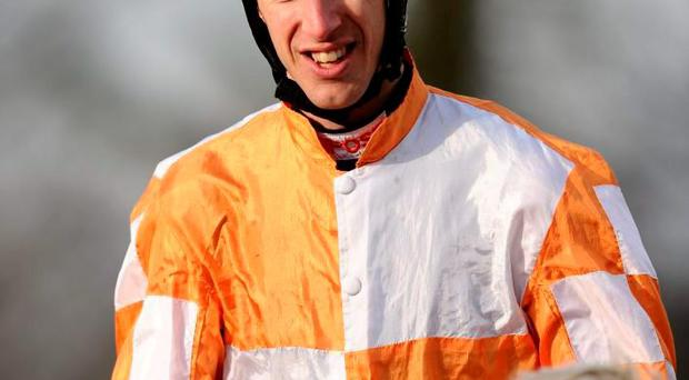 Jockey George Baker's form has been 'up and down' this year