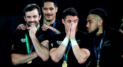 The humility which the All Black stars have shown in celebrating their World Cup victory underlines their team ethos while their desire to share the success with the supporters shows they want everyone in New Zealand to be a part of it