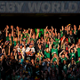 27 September 2015; Supporters take part in a 'Mexican Wave' during the game. 2015 Rugby World Cup, Pool D, Ireland v Romania, Wembley Stadium, Wembley, London, England. Picture credit: Stephen McCarthy / SPORTSFILE