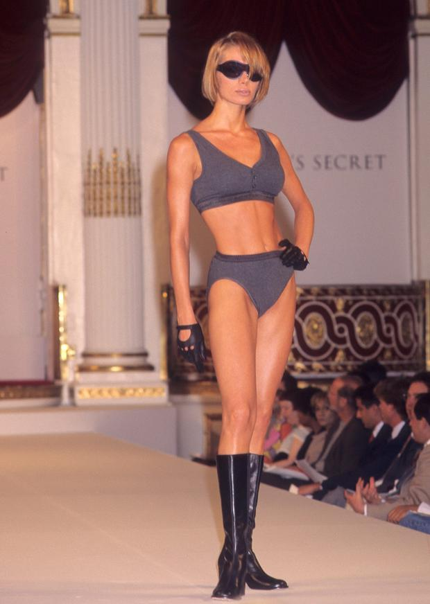 Model Angelika Kallio attends the First Annual Victoria's Secret Fashion Show on August 1, 1995 at the Plaza Hotel in New York