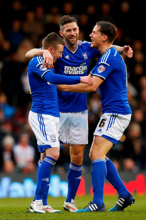 Daryl Murphy bagged a hat-trick