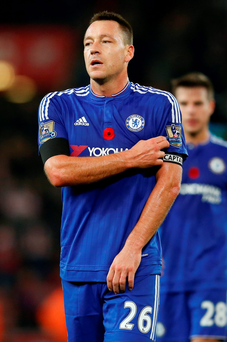 Chelsea sent skipper John Terry upfront late on to try and salvage a point