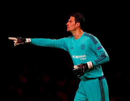 Asmir Begovic says play-off will be 'two tough games between two good teams'