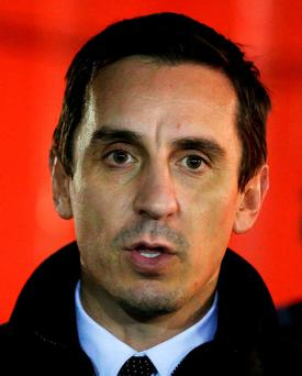 Gary Neville is one of the player's from Manchester United's 'Class of '92'