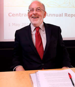 Worries: Central Bank Governor Patrick Honohan