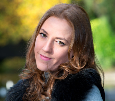 Talking point: Author Louise O'Neill, whose new novel, 'Asking For It', has just been released Photo: Tony Gavin