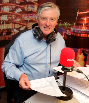 Big rejig: Pat Kenny's (pictured) departure didn't faze Noel Curran