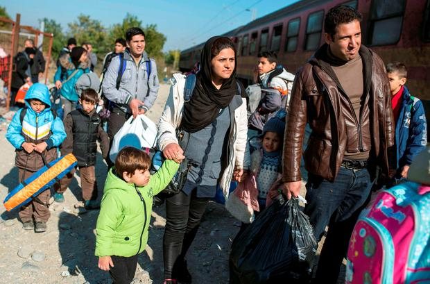 'The European Commission estimated that more than three million more people are expected to arrive in the EU by the end of next year'