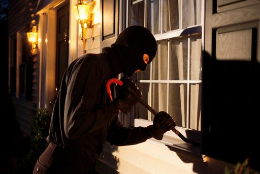 Burglars: Figures show that 26pc enter through a window