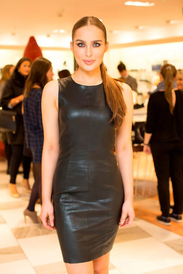Now: Roz Purcell at an Arnotts event. Photo: Anthony Woods