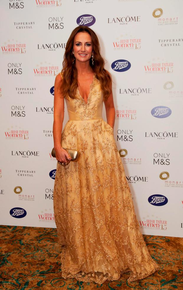 Lorraine Keane at the Irish Tatler Women of the Year Awards 2015. Picture: Paul Sherwood