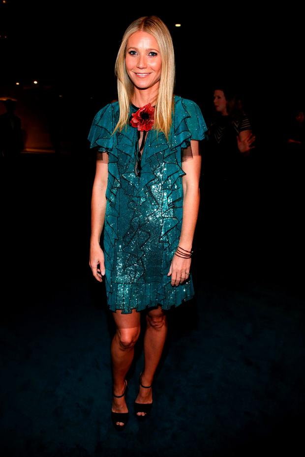 Actress Gwyneth Paltrow attends LACMA 2015 Art+Film Gala Honoring James Turrell and Alejandro G Iñárritu, Presented by Gucci at LACMA on November 7, 2015 in Los Angeles, California. (Photo by Jonathan Leibson/Getty Images for LACMA)