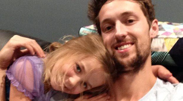Chris Dodd was crushed while trying to save his four-year-old daughter, Ella. GoFundMe