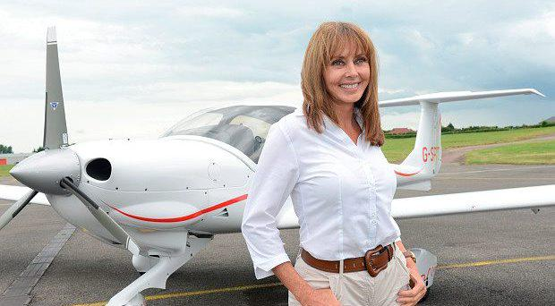 Carol Vorderman: preparing for takeoff on round-the world odyssey