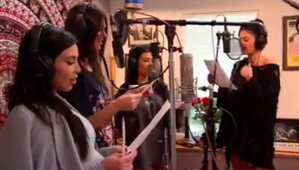 Kardashian and Jenner sisters recreate video for their 'momager' Kris Jenner's birthday video