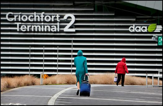Dublin Airport: queues for security checks have exceeded 30-minute time limit eight times over past five years