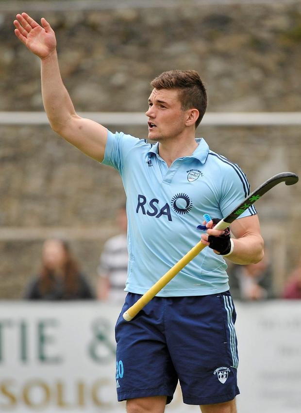 Monkstown's Richard Sykes scored the only goal to beat a full strength international selection at Rathdown School