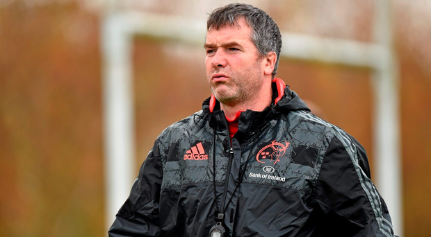 Munster head coach Anthony Foley