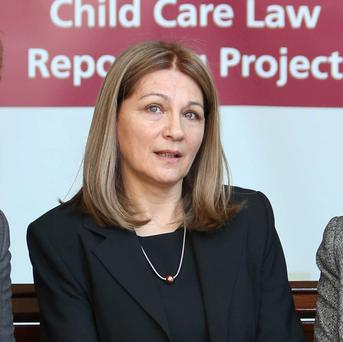 Mr Martin's comments are thought to have caused some discontent among District Court judges, prompting him to write to the President of the District Court, Judge Rosemary Horgan (pictured), offering his 'apologies' over the controversy