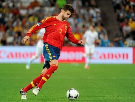 In the last three of Gerard Pique's 72 caps for Spain, a regular chorus of jeers has accompanied his touches of the ball