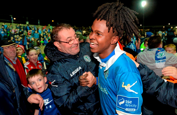 BJ Banda of Finn Harps