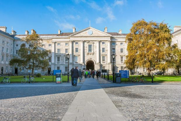Just 24pc of first-year full-time students at TCD are in receipt of student grants