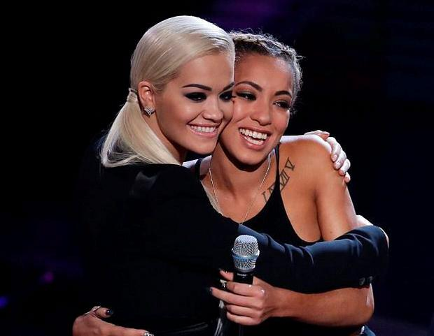 Kiera Weathers says goodbye to mentor Rita Ora