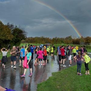 Saturday 07 November 2015. Park Run: Marlay Park.