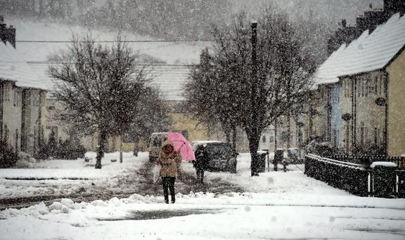 There's a chance of snow before 2017 is out. Stock picture