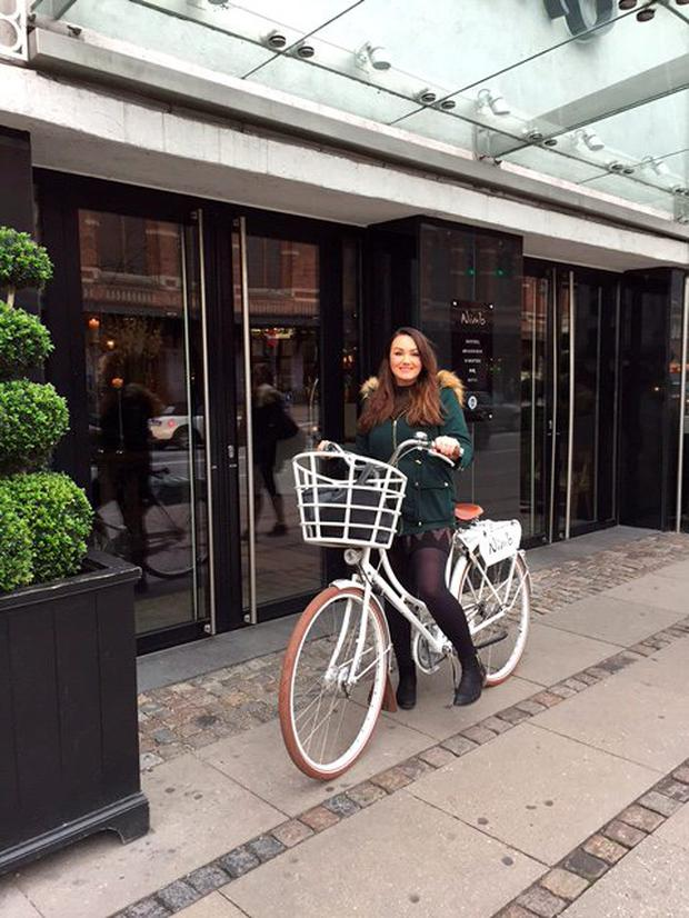 Vicki Notaro on her trip to Copenhagen