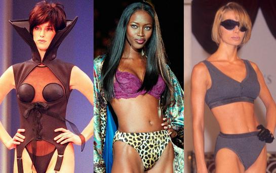 The Victoria's Secret Fashion Show in the 1990s