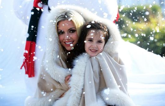 Rosanna Davison at the launch of Christmas Kingdom