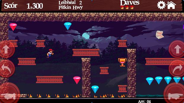 Dangerous Dave is back with HD graphics and a new focal or two